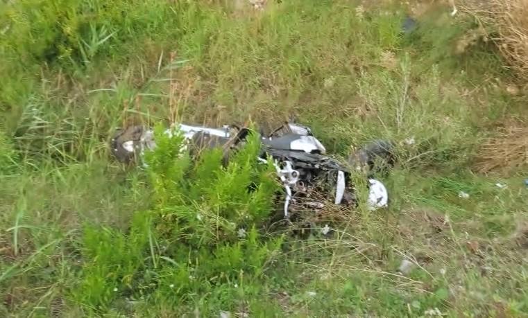 Incidente sull'Adriatica, motociclista al Bufalini