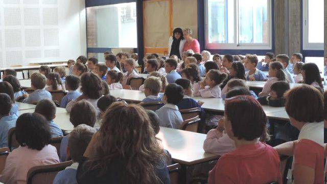 A Bellaria in 2.350 a scuola. Il saluto di sindaco e assessore