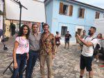 """""""Tutto liscio"""", per il film con la Cucinotta riprese al Borgo San Giuliano"""