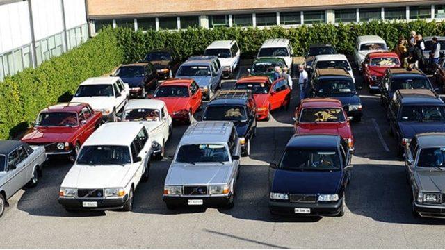 A Riccione raduno e parata per le Volvo d'epoca