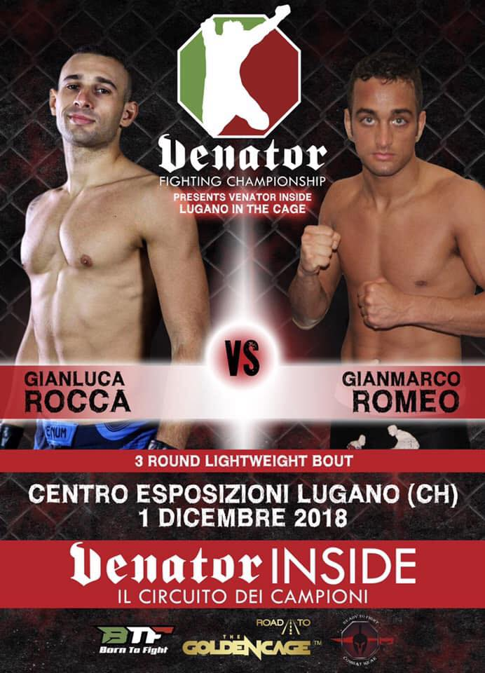 Gianluca Django Rocca torna nella gabbia