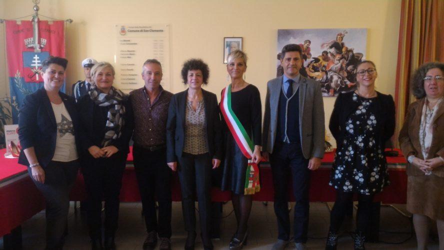 I Sindaci di San Clemente, Morciano di Romagna, Saludecio, Mondaino e Mondegridolfo hanno accolto il Prefetto Camporota