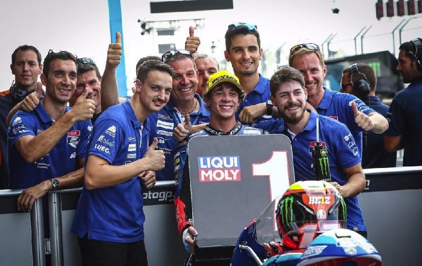 Moto3. In Thailandia pole per Marco Bezzecchi