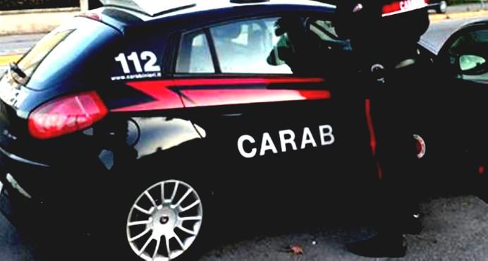 L'arresto dei Carabinieri