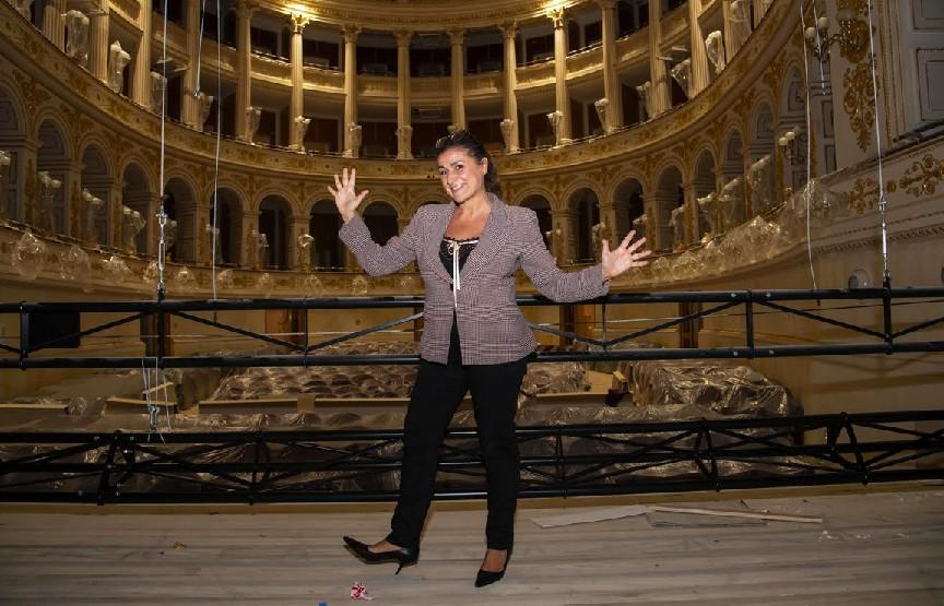 Prima della prima, Cecilia Bartoli in visita al Galli