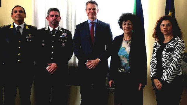 Il console Usa a Rimini, incontri in Prefettura e Municipio