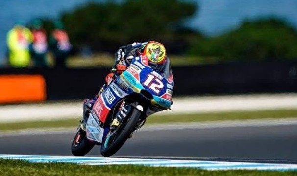 Moto3. Bezzecchi ancora ko, Martin allunga