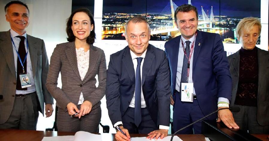 AiRiminium rinsalda i rapporti con la Russia: collaborazioni con San Pietroburgo