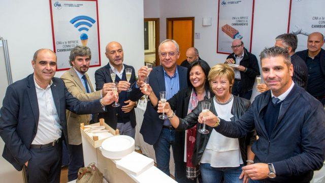 CNA inaugura la nuova sede di viale Ceccarini