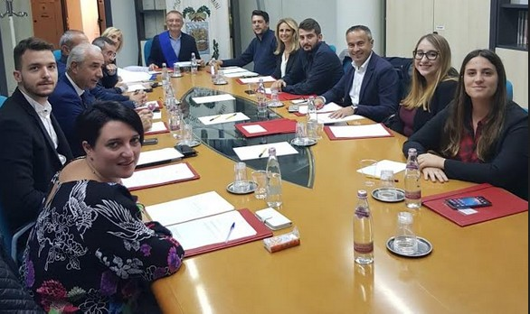Consiglio provinciale, nominati i capigruppo