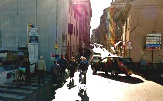 Corso d'Augusto, tratto chiuso per ripavimentazione