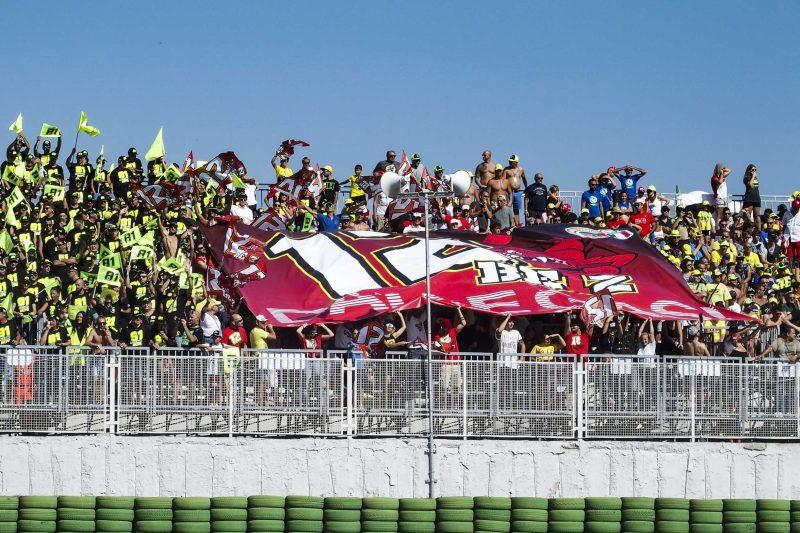 I fans di Bezzecchi
