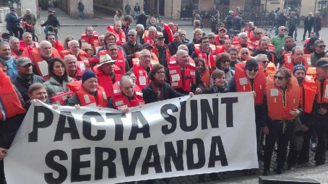 Darsene e caos canoni. La protesta da Rimini verso Roma