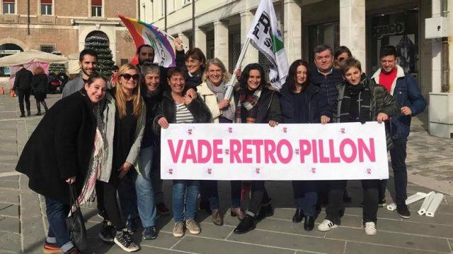 In piazza a Rimini la protesta contro il Ddl Pillon