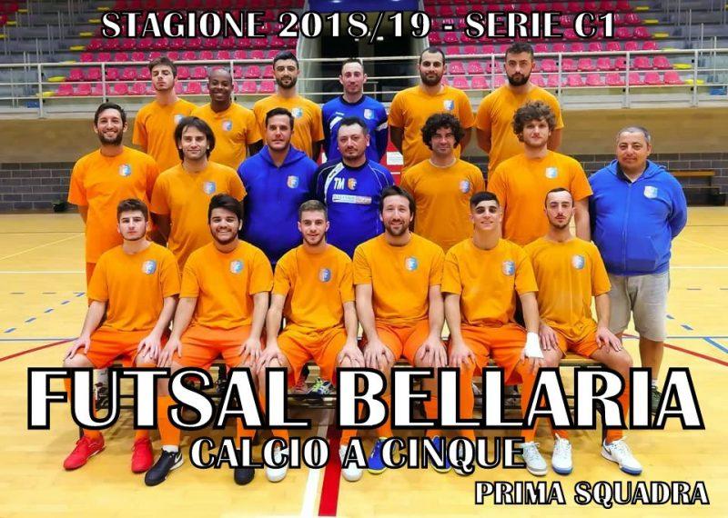 La prima squadra del Futsal Bellaria