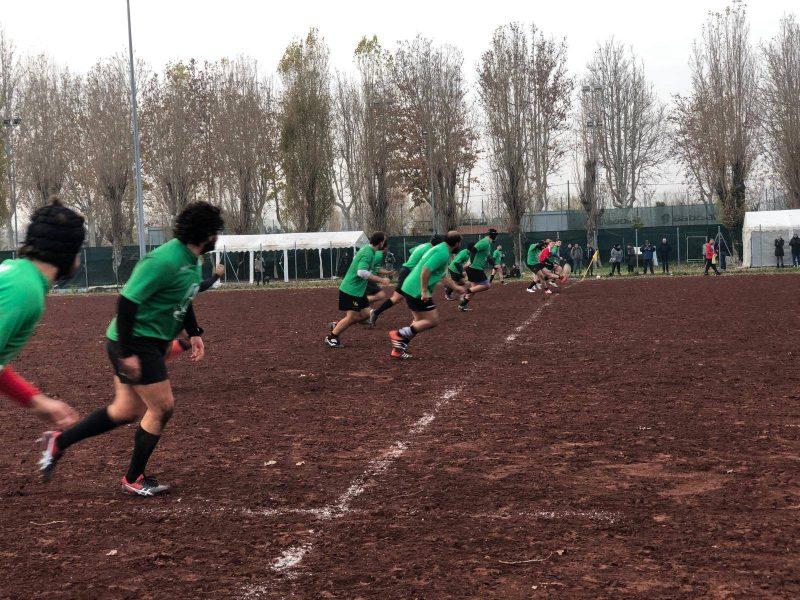 I giocatori del Rugby Rimini
