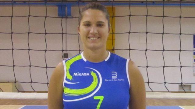Chiara Parenti, capitana della Banca di San Marino