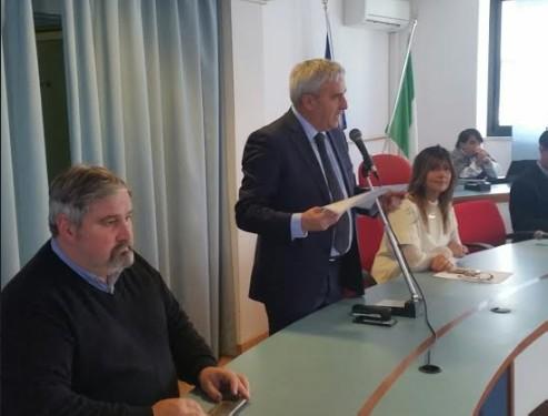 Nel saluto di Ceccarelli il bilancio di fine mandato