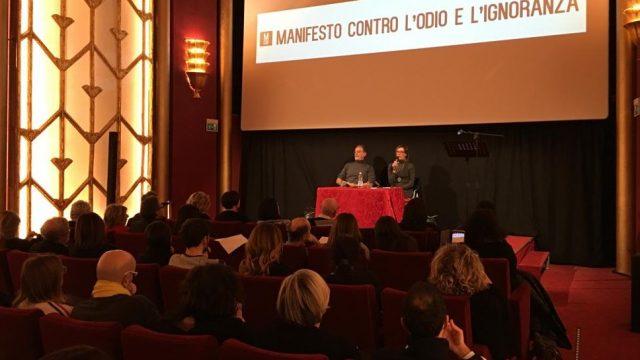 Da Rimini un manifesto contro l'odio e l'ignoranza