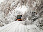 Risveglio con la neve per Rimini e provincia. Alcune scuole chiuse