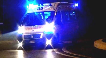 Incidente sull'Adriatica a Viserba, un ferito