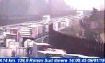 Incidente tra Rimini e Riccione, code in A14