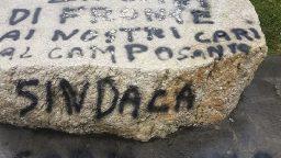 A Santarcangelo il vandalo colpisce il parco della fiera