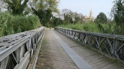 Ponte bailey a San Vito, manutenzione al via