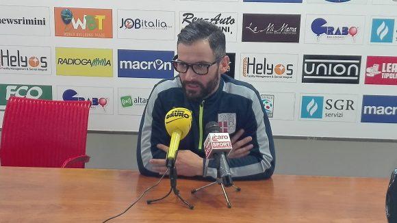 Marco Martini alla vigilia di Fermana-Rimini