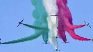 Le Frecce Tricolori tornano a Rimini