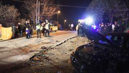 Frontale a Mulazzano, un morto e cinque feriti
