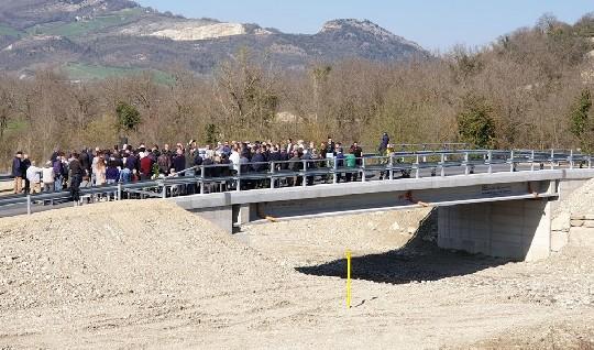 Maiolo ritrova il ponte sul Rio Maggio