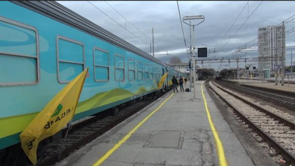 Il Treno Verde in stazione. Legambiente: rafforzare la Rimini-Ravenna