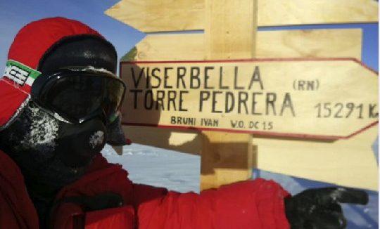 La strada dall'Antartide a Torre Pedrera e Viserbella ora è