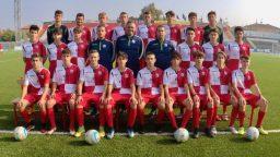 L'Under 17 del Rimini FC, catania