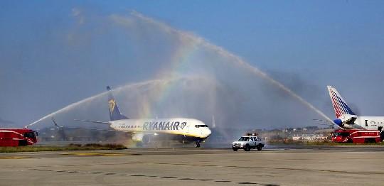Parte la nuova stagione di Ryanair dal Fellini. Obiettivo inverno
