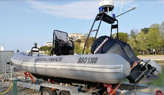 Un nuovo mezzo per il reparto aeronavale di Rimini