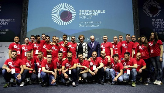Il premier Conte apre il Sustainable Economy Forum a San Patrignano