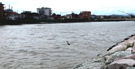 Cala il livello dei fiumi, scende il codice di allerta