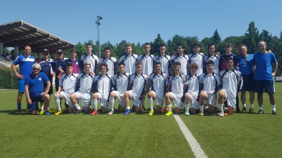 La Rappresentativa Juniores dell'Emilia Romagna