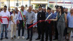 Viale Oliveti, inaugurato l'intervento di riqualificazione