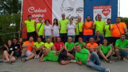 Lo staff della Polisportiva Junior Coriano