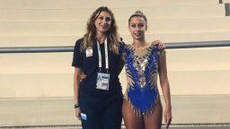 Lucia Castiglioni alle Universiadi di Napoli
