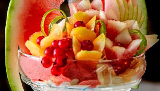 Gradisca, sorbetti e frutta. I gelati del ferragosto 2019