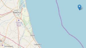 Lieve scossa al largo della costa romagnola