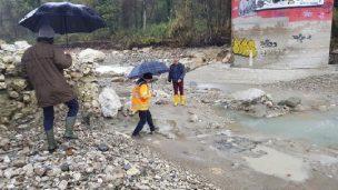 Verifiche di stabilità del Ponte Verucchio dopo le forti piogge