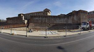 Fossato del Castello, ultimo mese di cantiere