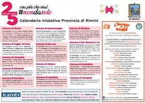 provincia eventi giornata 25 novembre violenza controle donne
