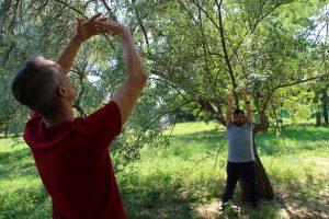 poesia della natura, danza e parole in libertà